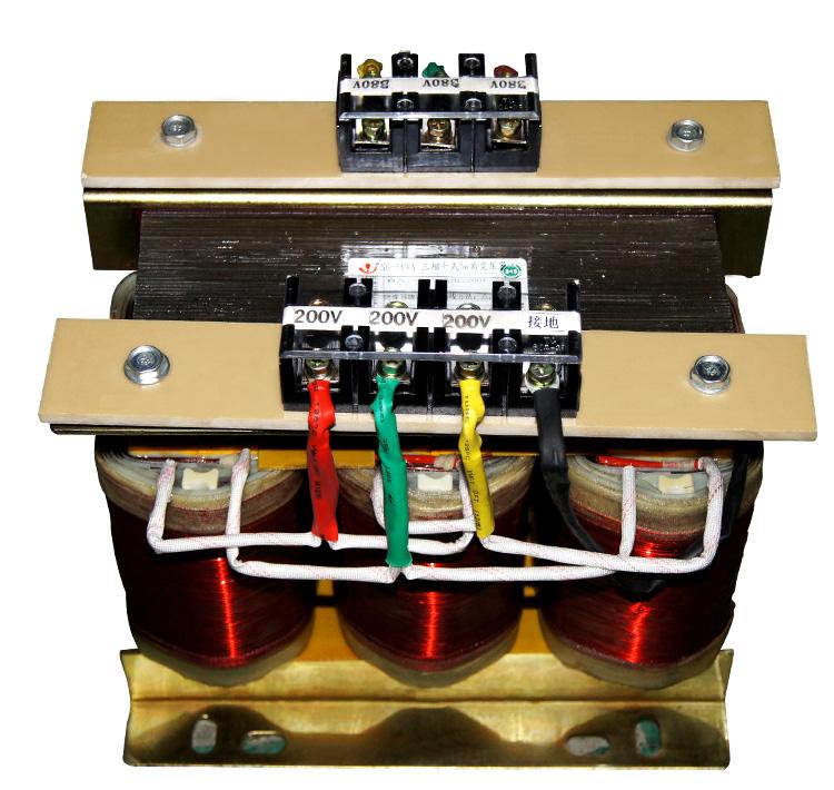 非包封三相干式变压器